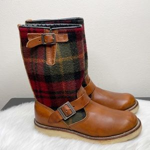 Red Wing Shoes Engineer LumberJack Mens Boots